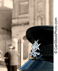 Policeman\\\'s Cap - Malta Police Force - Police cap of the...