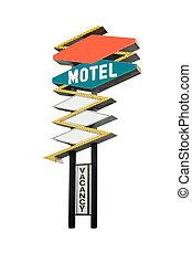 motel, sinal