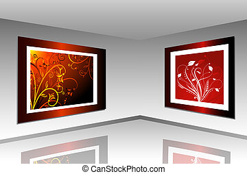 Art gallery - Digitally created art gallery