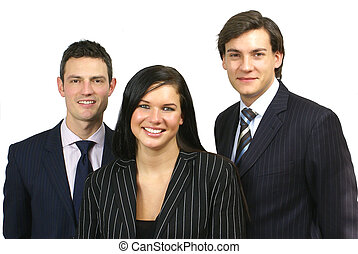 Business People - Small Group of three business people