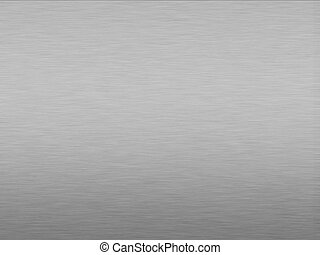 Brushed Aluminum - Brushed aluminum background effect with...