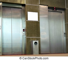 Stainless Steel Elevators - -- they are part of a modern...