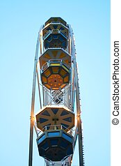 Wheel of fortune. Lunapark