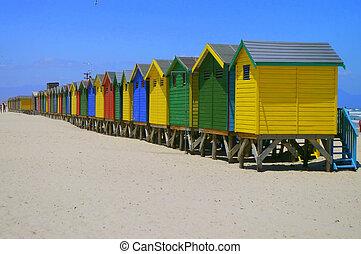Beachfront Hut - beachfront hut on beach in capetown SA