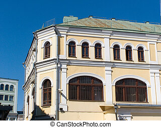 age-old building, decoration, history, Moscow, exterior
