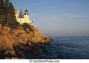 Bass Harbor Head Lighthouse, Acadia National Park  Maine