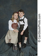 German Children - Model Release 270 German chrildren ages 8...