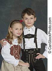 German Children - Model Release #270 German chrildren ages 8...