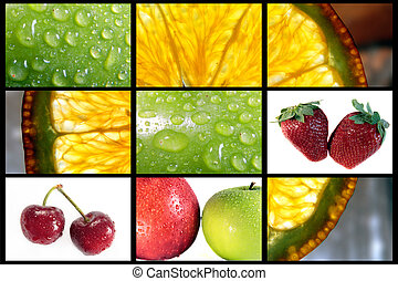 Fruit composition 2 - composition make with fruit images