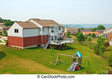 Neighborhood Back Yards