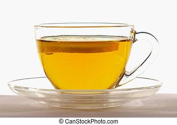 cup of tea - green tea - healthy beverage