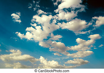 The fantastic yellow clouds. - The fantastic yellow clouds...