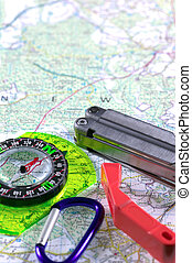 Adventure Series 2 - Outdoor adventure image with a map as...