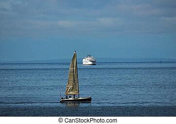 transbordador, isla