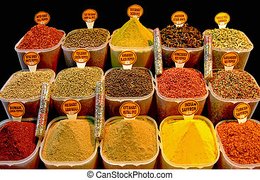 Spice - Variety of spices from all over the world
