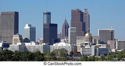 cidade,  Atlanta,  Geórgia