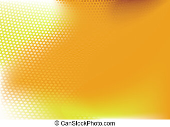 abstract background - composition of dots and curved...