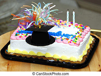 Graduation Cake - A Cake to celeberate successful graduation...