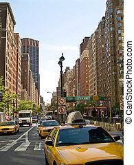 NY, taxis