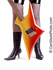 Glam Rock Guitar - Seventies Style Glam Rock Electric Lead...
