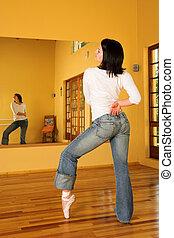 #8, dançarino, modernos