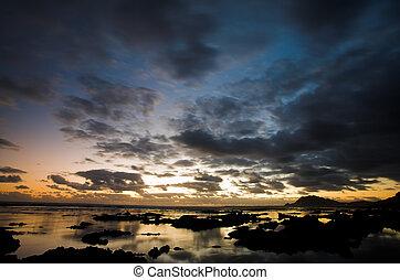 Sea Landscape 5 - Rocky Beach, Bettys bay - Western Cape,...