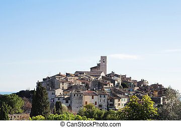 St Paul #34 - The small hilltop town of St Paul,  France
