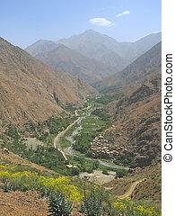 marrón, marruecos, campos, fadma, atlas, setti, cultura,...