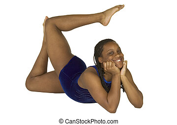 13 year old girl in gymnastics poses - Model Release #283 13...
