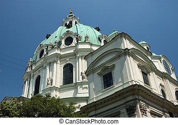 St. Charles Cathedral (Karlskirche) in Vienna, Austria