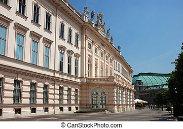 Albertina in Vienna - The Art Museum Albertina in Vienna...