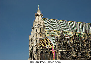 St. Stephen\\\'s Cathedral (Stephansdom) in Vienna, Austria