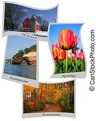 Seasons Post Cards