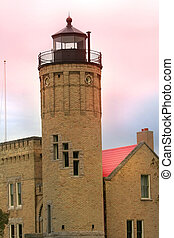 Mackinaw light house