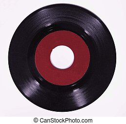 old 45 record - isolated old 45 record