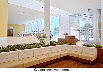 Hotel lobby - Bright Hotel lobby