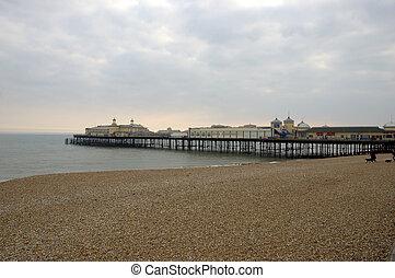 Hastings Pier -  A victorian pier in Hastings at sundown