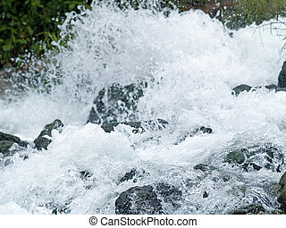 white water - Some powerful force of water at this rapid