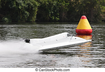 Formula one racing - A formula 1 racecraft on the water