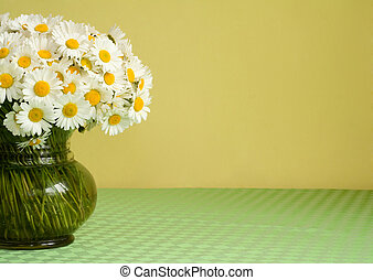 Daisy bouquet in a vase - Big bouquet of daisies in a vase...