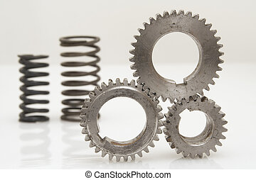 0067Industrial object - Components of a mechanism