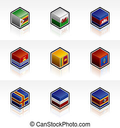 Flag Icons Set - Design Elements 56z, it\\\'s a high...