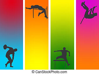 athletic 4 - athletic and gymnastic with drama back ground
