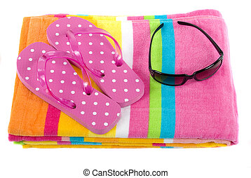 Colorful Beach Items