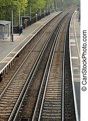 vazio, plataforma