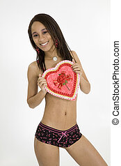 Glamour Modeling - Model Release 379 African American woman...