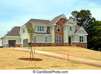 New Home For Sale - new home for sale photographed in...