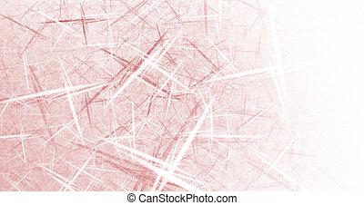 Business Graphic - Red Lattice - Red Lattice - High...