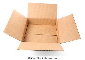 Carton - a Carton with white background