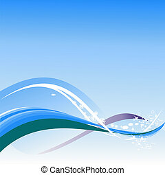 Abstract backgrounds - Vector abstract illustration of...